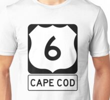 US 6 - Cape Cod Massachusetts Unisex T-Shirt