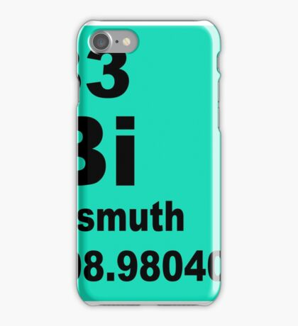 Bismuth periodic table of elements iPhone Case/Skin