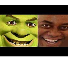 Shrek/Ainsley Photographic Print