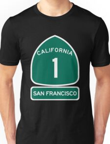 PCH - CA Highway 1 - San Francisco Unisex T-Shirt