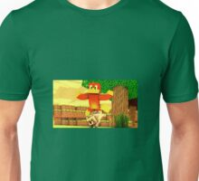 Sick Wolf Excited Fire Bird Unisex T-Shirt