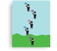 Raining Cats Canvas Print