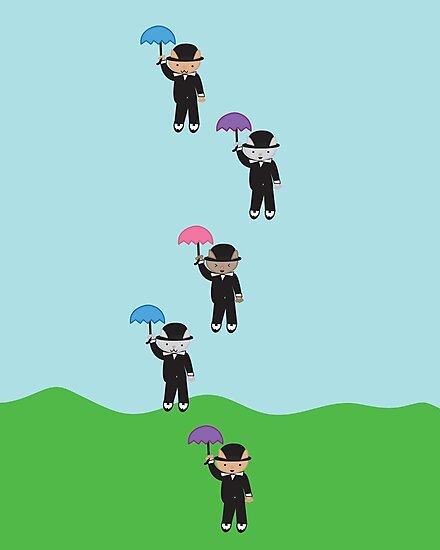 Raining Cats by ValeriesGallery