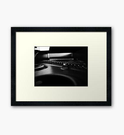 Play me a tune Framed Print