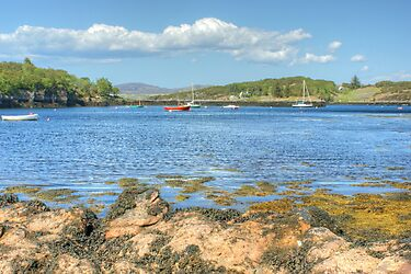 Badachro Harbour by VoluntaryRanger