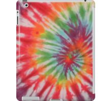 Retro Colorful Psychedelic Tie Dyed Pattern iPad Case/Skin
