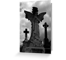 Stone Angel Greeting Card