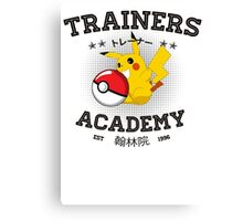 Trainers Academy Canvas Print