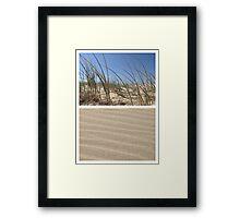 Beach Dunes - Diptych Framed Print