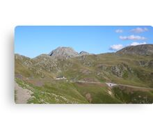 Pass road Canvas Print