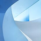 Staircase In Blue by Angelika  Vogel