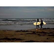 Sunrise Surfers - Middleton Beach Photographic Print