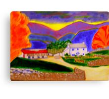 Cottage in the Brecon Beacons! Canvas Print