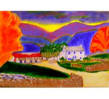 Cottage in the Brecon Beacons! Photographic Print