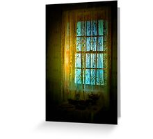 Sunlight and Lace Greeting Card
