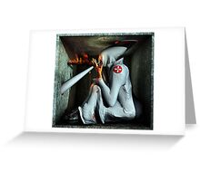 Ecce Homo 99 - THE KLANSMAN Greeting Card