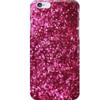 Cute Pink Glitter Pattern iPhone Case/Skin