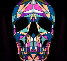 Rainbow Skull  by Factory23