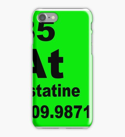 Astatine periodic table of elements iPhone Case/Skin