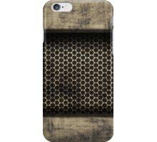Vintage Grunge Metal Design iPhone Case/Skin