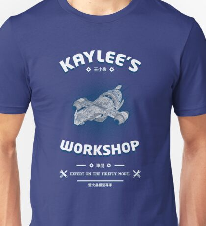 Kaylees Workshop v2 Unisex T-Shirt