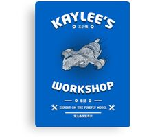 Kaylees Workshop v2 Canvas Print