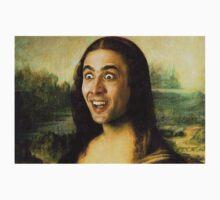 Nicolas Cage - Mona Lisa T-Shirt