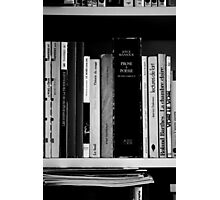 Pause Lecture... Photographic Print