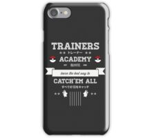 Trainers Academy iPhone Case/Skin