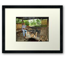 The Coffee Bean Cooker Framed Print