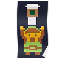It's dangerous to go decaffeinated! Take this.  Poster