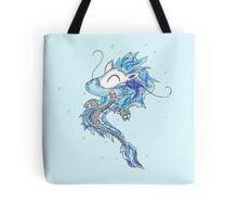 Baby Eastern Ice Dragon Tote Bag