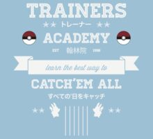 Trainers Academy One Piece - Short Sleeve