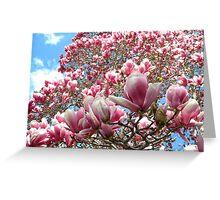Magnolia Chaos Greeting Card