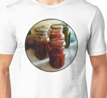 Tomatoes and String Beans in Canning Jars Unisex T-Shirt
