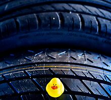 Tire pressure checker... by Susana Weber