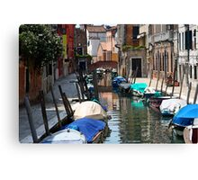 Off the Tourist Track - Venice Canvas Print