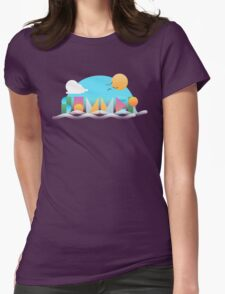 It's Summer Time Womens Fitted T-Shirt