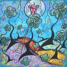 Blissful Refuge-acrylic by Juli Cady Ryan