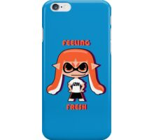 Splatoon Feeling Fresh iPhone Case/Skin