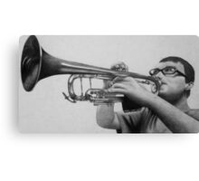 Trumpet Player Canvas Print