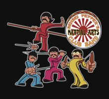 Sensei Pepper's Martial Arts Club Band - Attack Mode Baby Tee