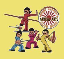 Sensei Pepper's Martial Arts Club Band - Attack Mode Kids Tee