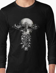Metamorphosis Design on Black or Dark Color Long Sleeve T-Shirt