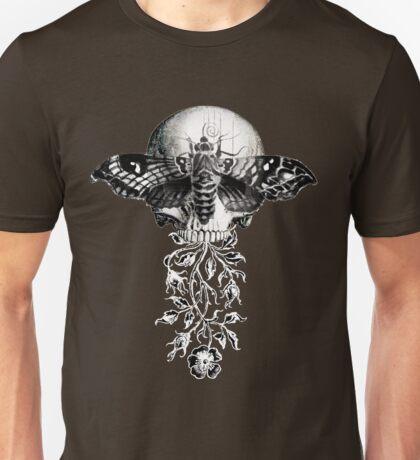 Metamorphosis Design on Black or Dark Color Unisex T-Shirt