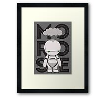 Marvin Morose Framed Print