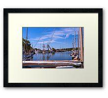 Nautical Celebration Framed Print