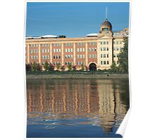Harrods Furniture Depository Reflections Poster