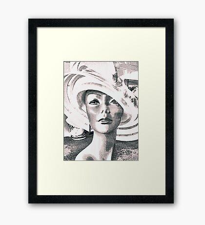 Lady Benson Framed Print