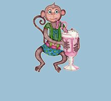 Milkshake Monkey Womens Fitted T-Shirt